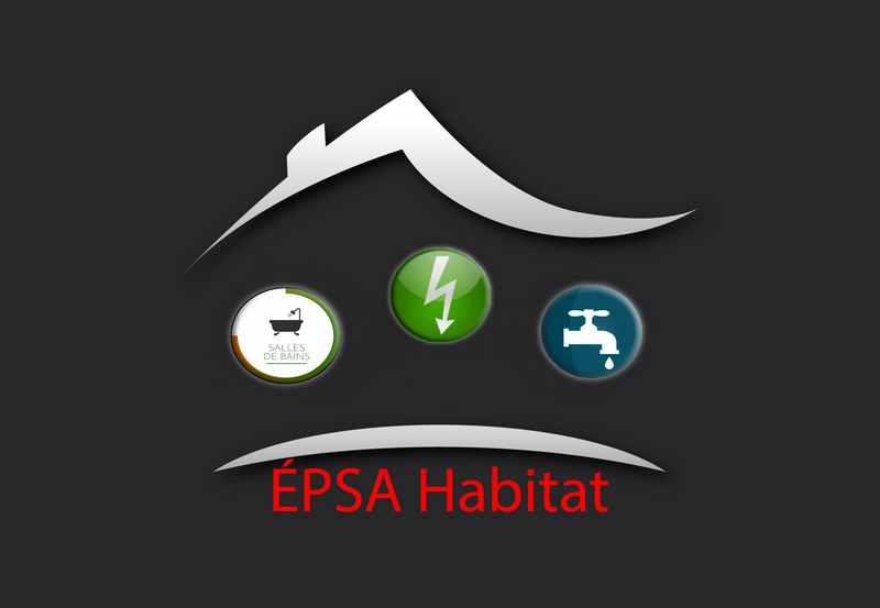 Logo de ÉPSA Habitat, société de travaux en Installation électrique : rénovation complète ou partielle