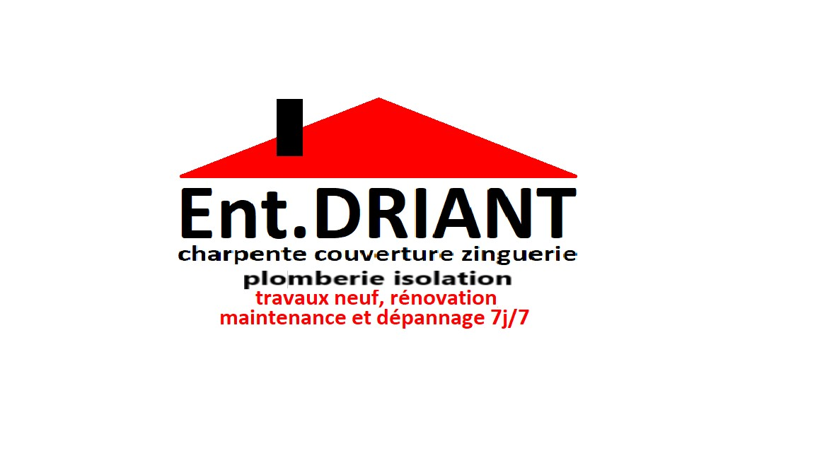 Logo de ENT.DRIANT, société de travaux en Fixation de Gouttières (aluminium)