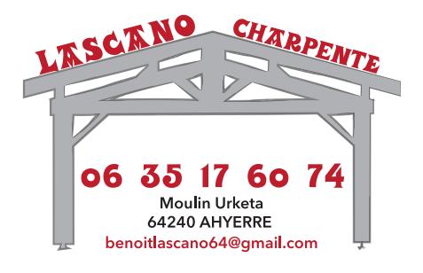 Logo de lascano charpente, société de travaux en Couverture complète (tuiles, ardoises, zinc)