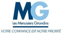 Logo de Les Menuisiers Girondins, société de travaux en Fourniture et remplacement de porte ou fenêtre en PVC