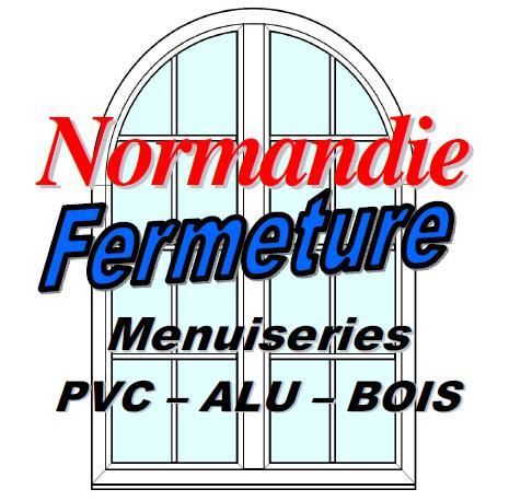 Logo de Normandie Fermeture, société de travaux en Fourniture et remplacement de porte ou fenêtre en bois