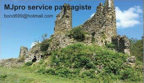 Logo de Jacob Mathieu mj pro services, société de travaux en Amélioration de jardin et de terrasse