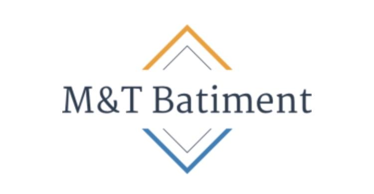 Logo de M&T bâtiment, société de travaux en Fourniture et pose de carrelage