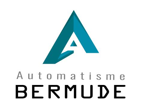 Logo de automatisme bermude, société de travaux en Motorisation pour fermeture de portes et portails