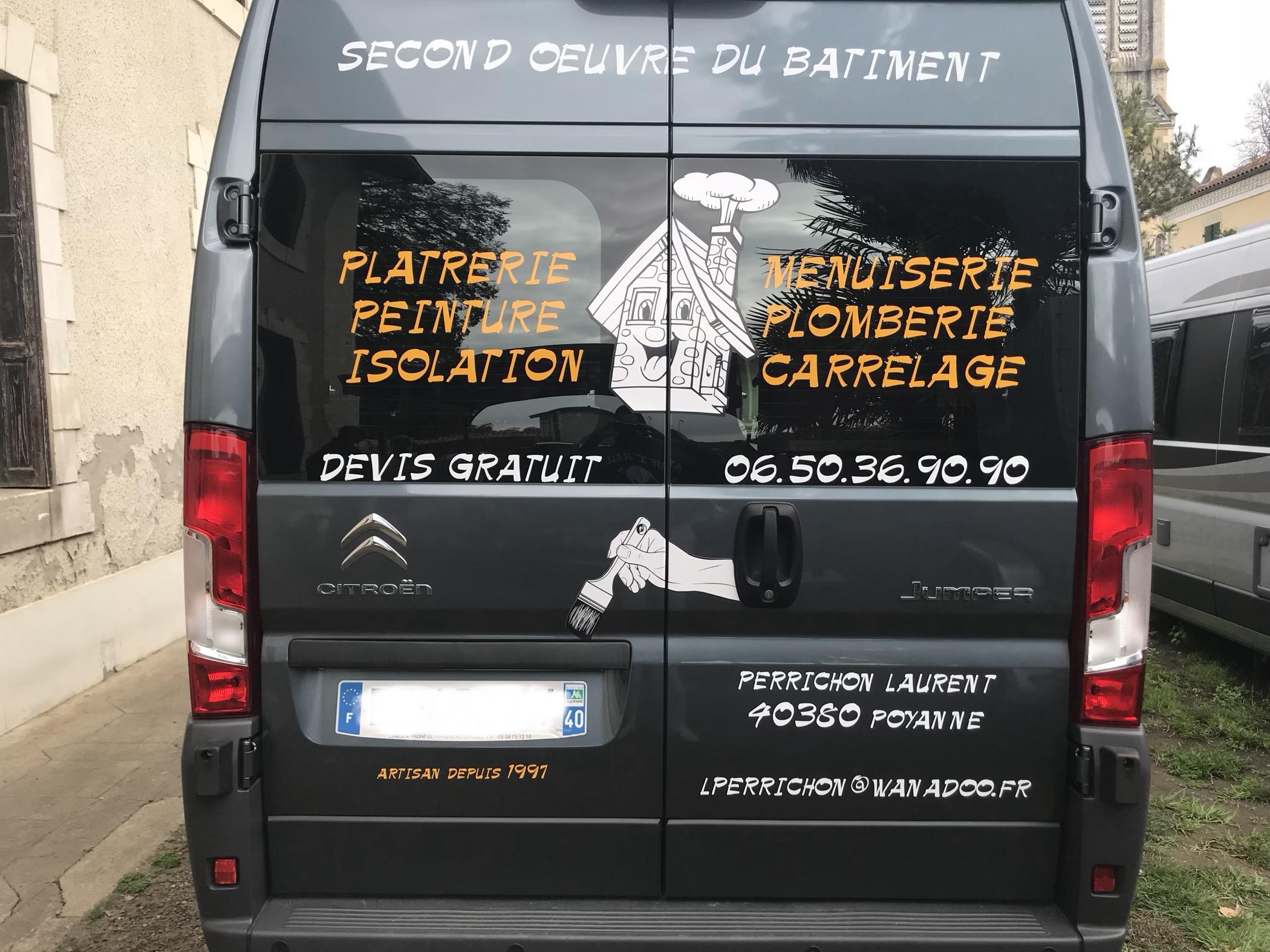 Logo de Perrichon, société de travaux en Ravalement de façades
