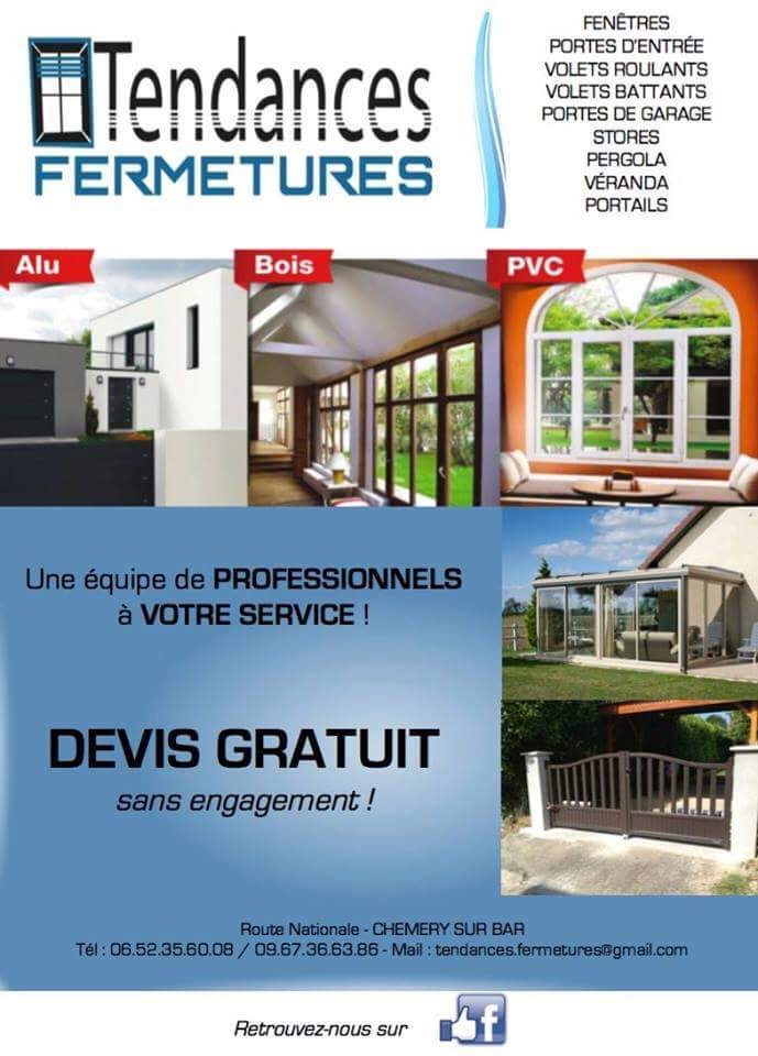 Logo de TENDANCES FERMETURES, société de travaux en Fourniture et installation d'une ou plusieurs fenêtres