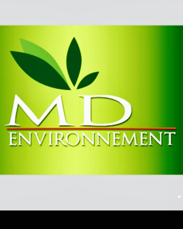 Logo de MDenvironement, société de travaux en Création de jardins, pelouses et de parcs