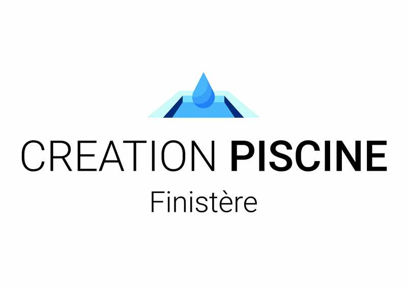 Logo de Création Piscine Finistère, société de travaux en Construction de piscines