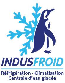 Logo de INDUSFROID, société de travaux en Fourniture et pose d'une climatisation réversible / chauffage