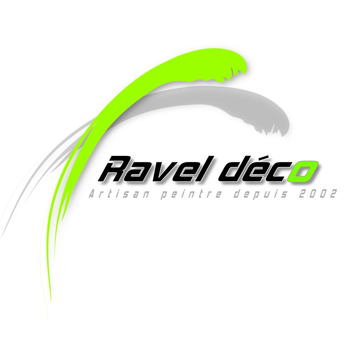 Logo de ravel deco, société de travaux en Peinture : mur, sol, plafond