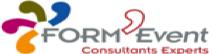 Logo de FORM'EVENT, société de travaux en Peinture : mur, sol, plafond