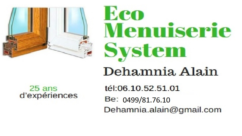 ECO MENUISERIE System