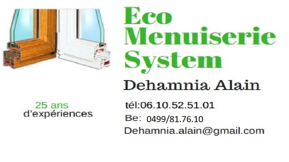 Logo de ECO MENUISERIE System, société de travaux en Cuisine : aménagement et réalisation