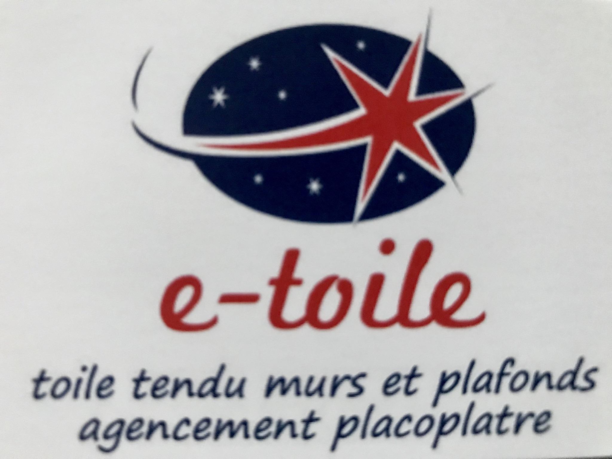 Logo de E-toile interieure, société de travaux en Construction, murs, cloisons, plafonds en plaques de plâtre
