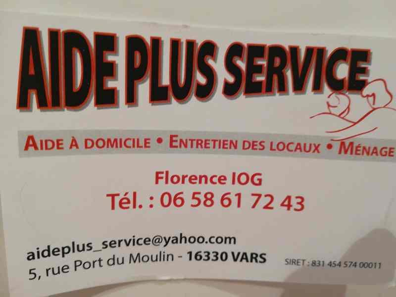 Logo de Aide plus service, société de travaux en Nettoyage industriel