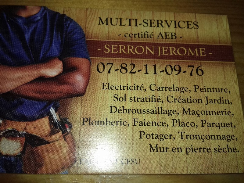 Logo de Jérôme multi-services, société de travaux en Dépannage de Volets roulant