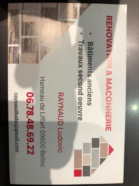 Logo de raynaud ludovic, société de travaux en Construction & Rénovation de cloisons