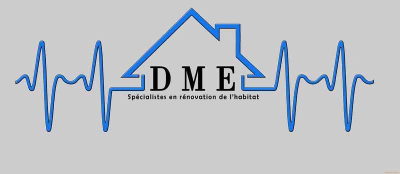 Logo de DME, société de travaux en Couverture complète (tuiles, ardoises, zinc)