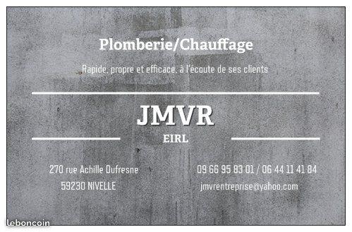 Logo de JMVR, société de travaux en Plomberie : installation ou rénovation complète