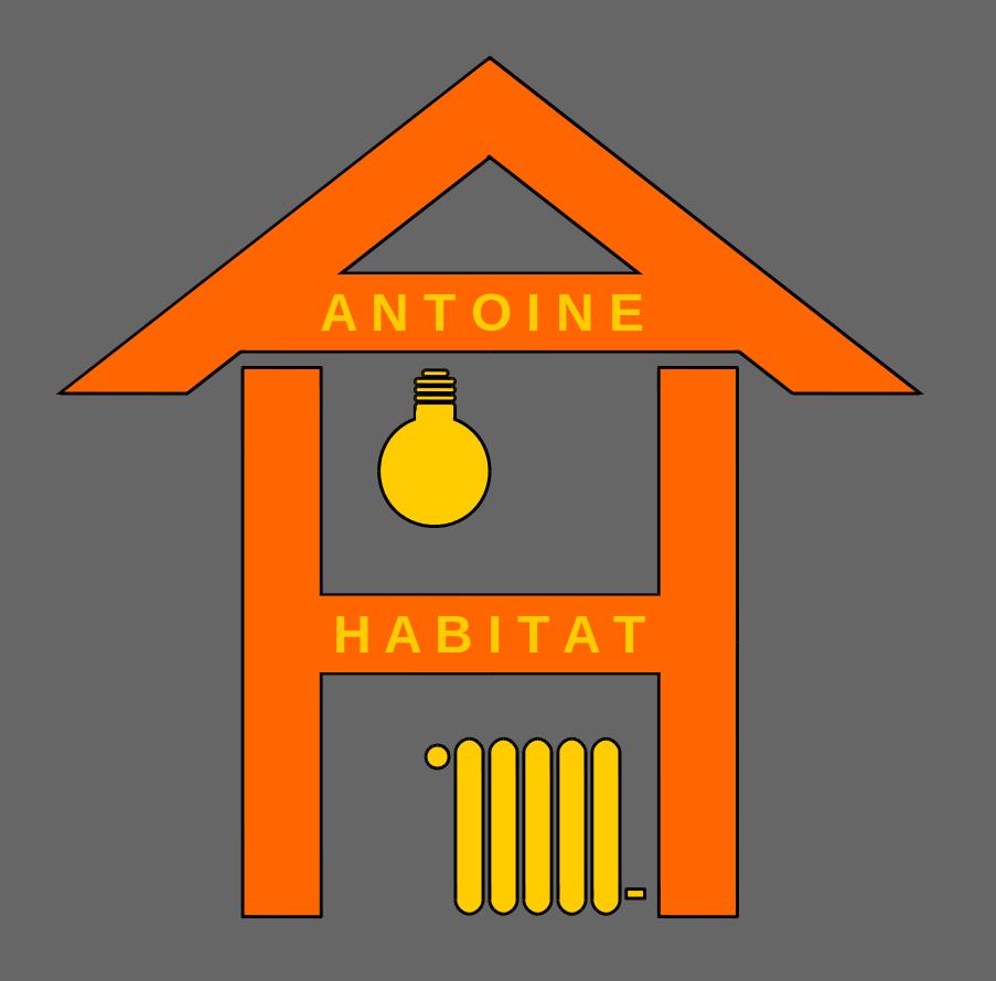 Logo de Antoine Habitat, société de travaux en Fourniture et installation d'un séche serviettes