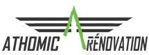 Logo de ATHOMIC RENOVATION, société de travaux en Portail : fourniture et installation