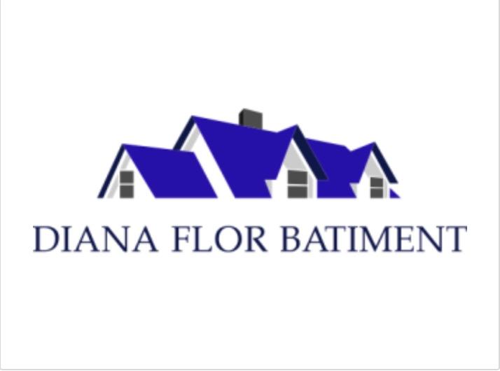 Logo de DIANA FLOR BATIMENT SRL, société de travaux en Construction, murs, cloisons, plafonds en plaques de plâtre
