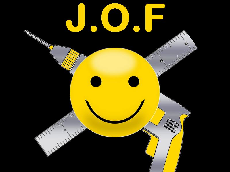 Logo de J.O.F, société de travaux en Architecture d'intérieur