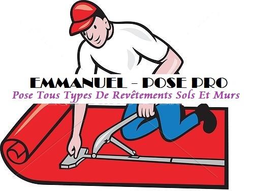 Logo de Emanuelposepro, société de travaux en Fourniture et pose de moquettes