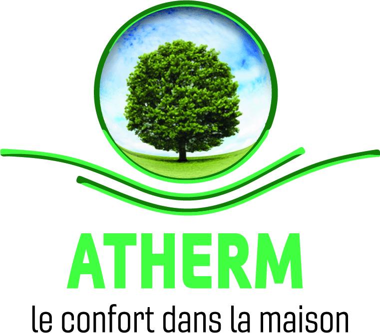 Logo de atherm, société de travaux en Fourniture et pose d'isolation thermique dans les combles