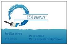 Logo de E.S.A Peinture, société de travaux en Peinture : mur, sol, plafond