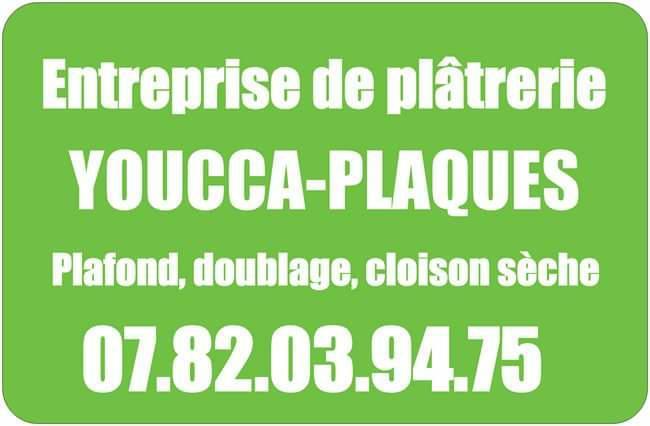 Logo de Youcca-plaques, société de travaux en Construction, murs, cloisons, plafonds en plaques de plâtre