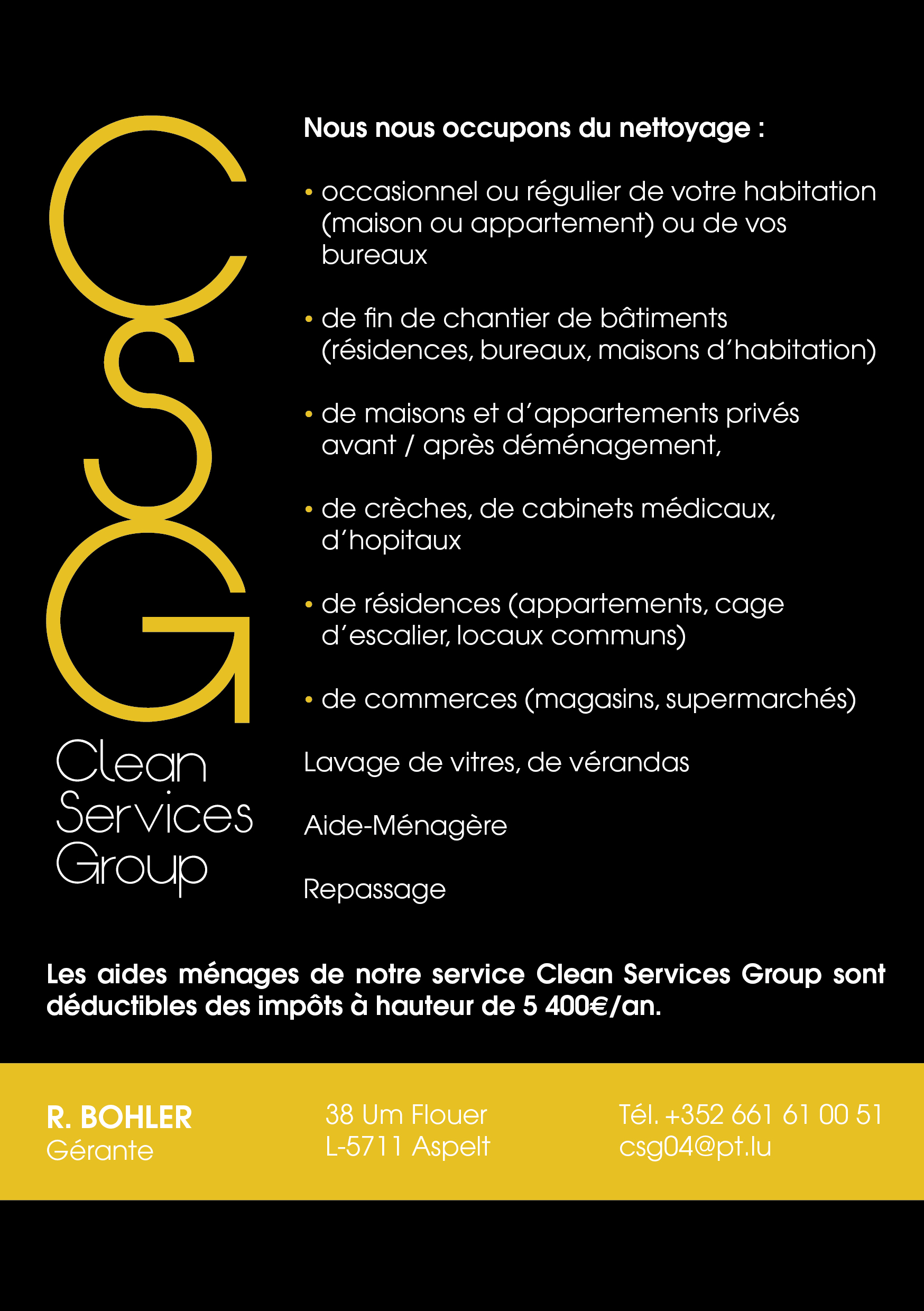 C.S. G. Services Group