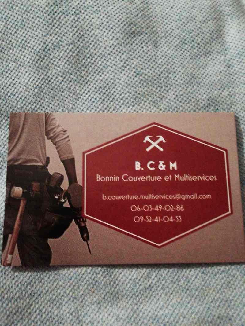 Logo de B. C&M, société de travaux en Réparation de cheminée sur toiture