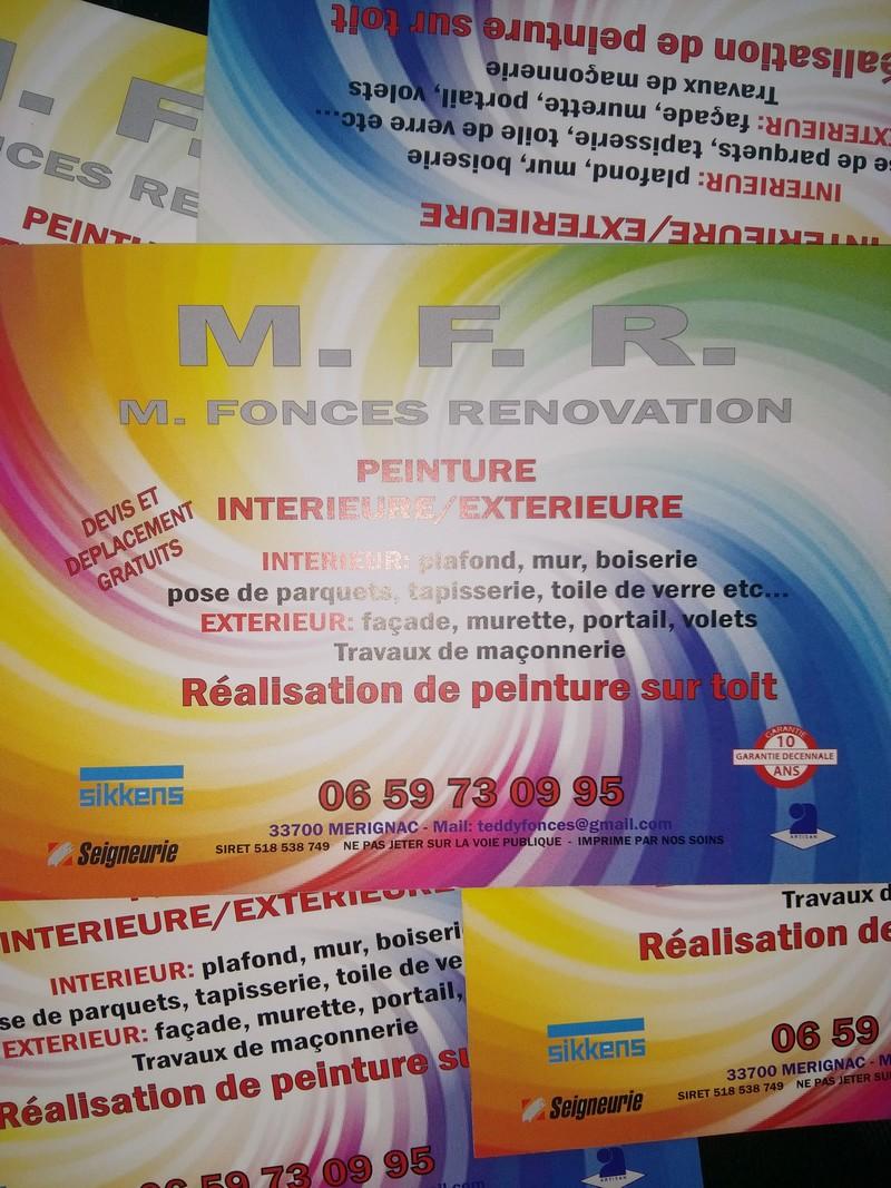 Logo de Mfr, société de travaux en Nettoyage de toitures - façades - bardages