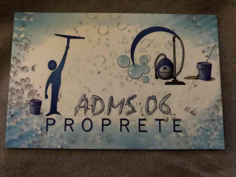 Logo de ADMS 06, société de travaux en Nettoyage de toitures - façades - bardages