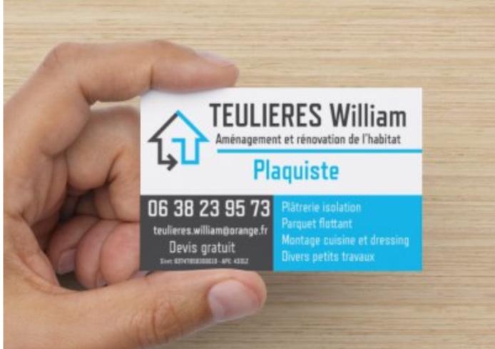 Logo de Teulieres, société de travaux en Construction, murs, cloisons, plafonds en plaques de plâtre