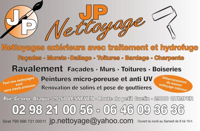 Logo de Jpnettoyage, société de travaux en Abatage d'arbres