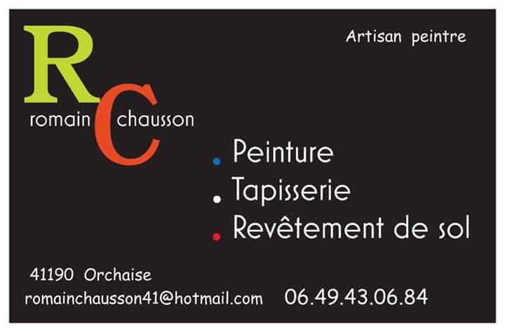 Logo de Romain chausson, société de travaux en Fourniture et pose de linos