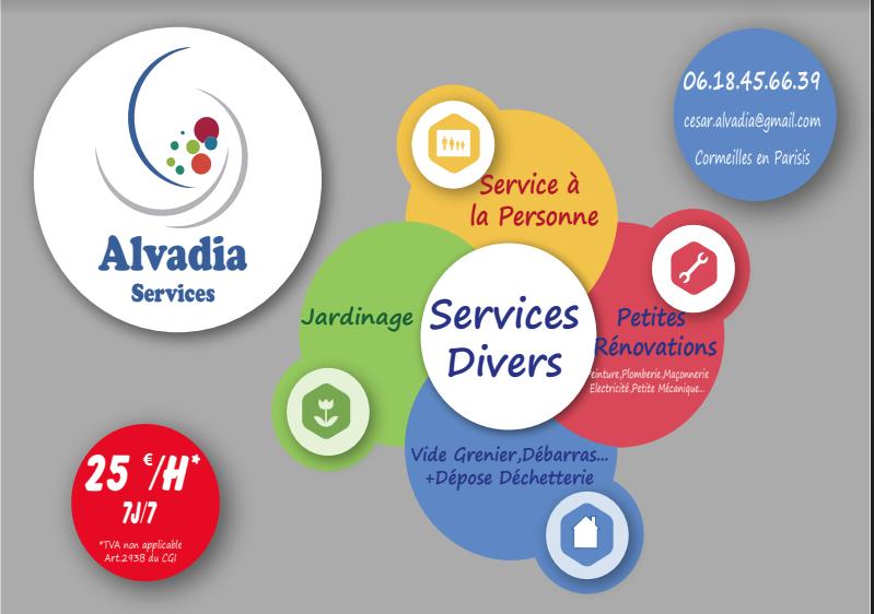 Logo de ALVADIA SERVICES, société de travaux en Elagage / Taille