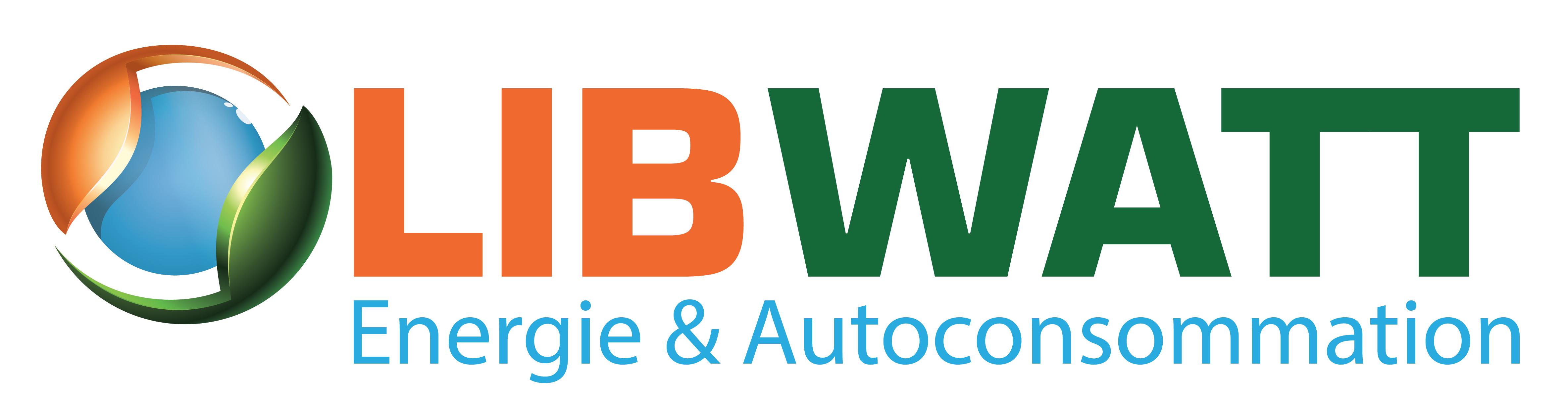 Logo de LIBWATT, société de travaux en Production électrique : photovoltaïque / éolien
