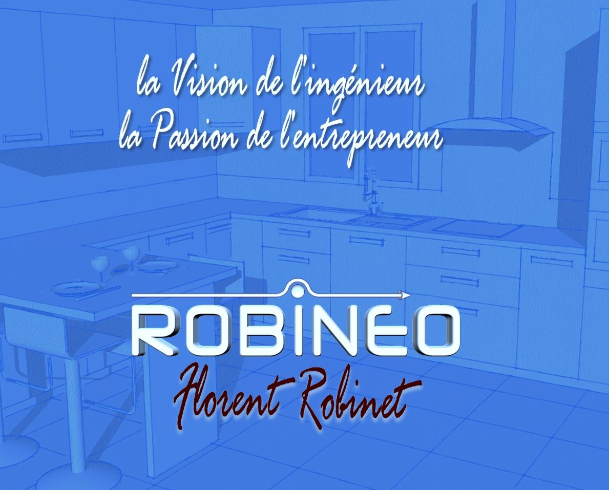Logo de ROBINET Florent (ROBINEO), société de travaux en Cuisine : aménagement et réalisation