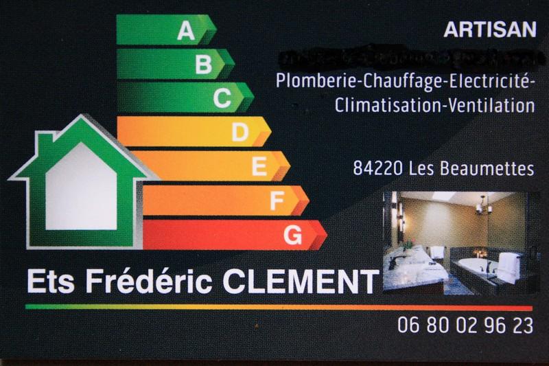 Logo de Clement Frédéric, société de travaux en Plomberie : installation ou rénovation complète