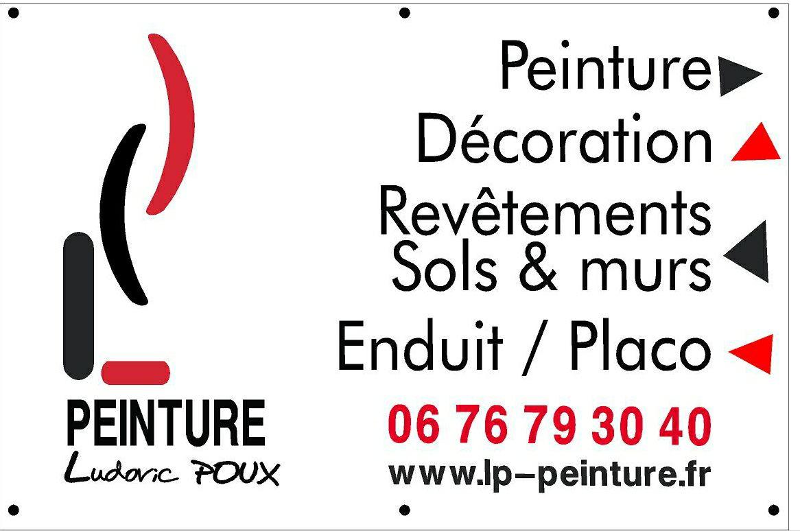 Logo de LP Peinture, société de travaux en Peinture : mur, sol, plafond