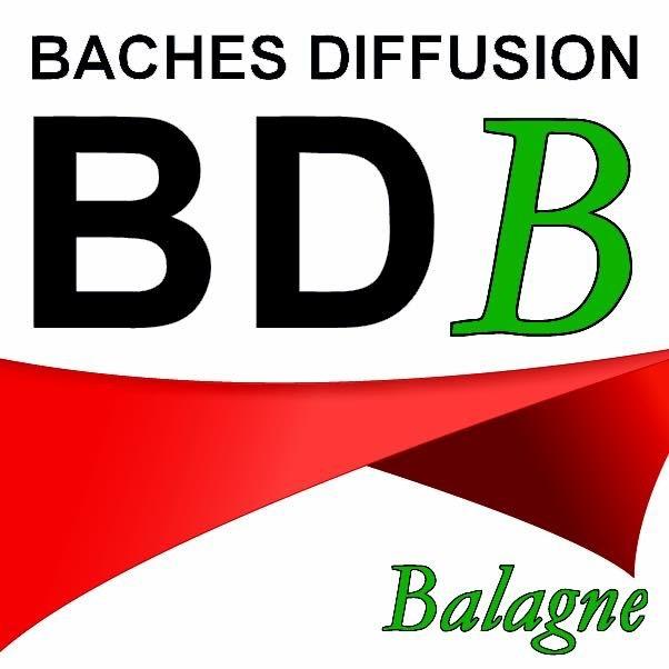 Logo de BACHES DIFFUSION BALAGNE, société de travaux en Motorisation pour fermeture de portes et portails
