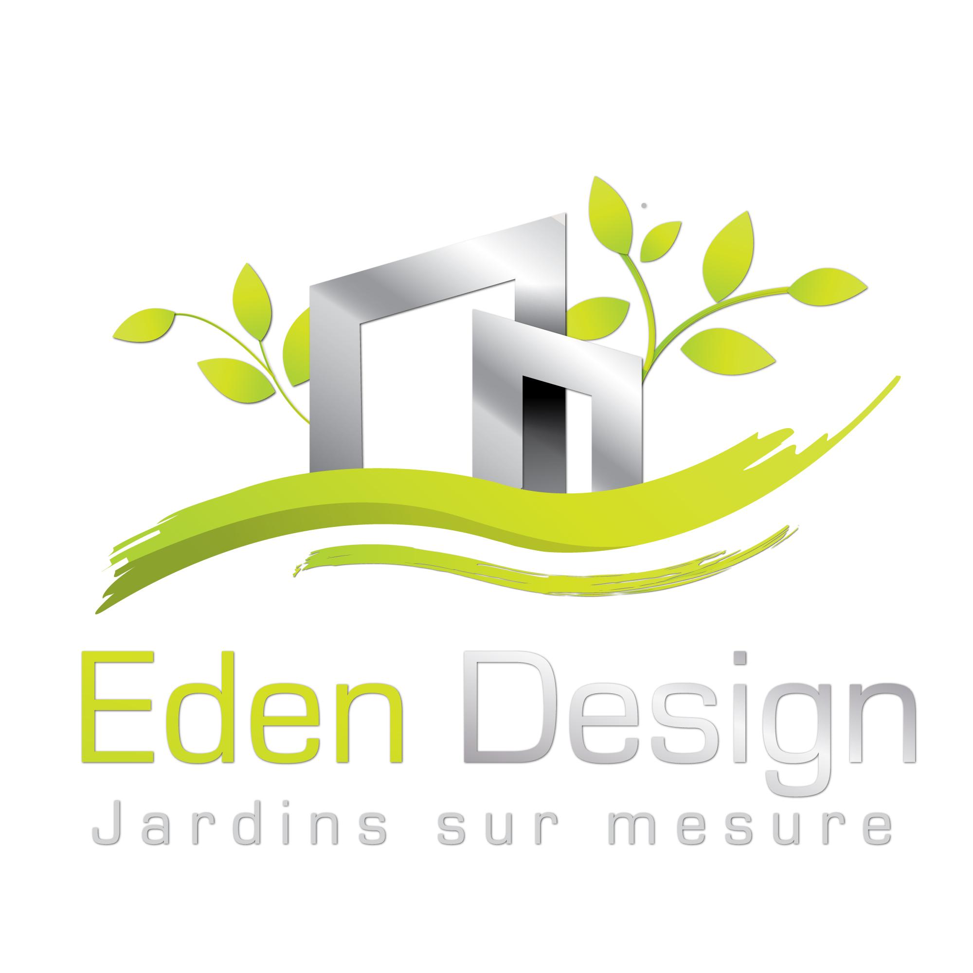Logo de EDEN DESIGN, société de travaux en Décoration jardin / patio / pergola / treillage / fontaine