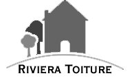 Logo de Riviera toiture, société de travaux en Fixation de Gouttières (aluminium)