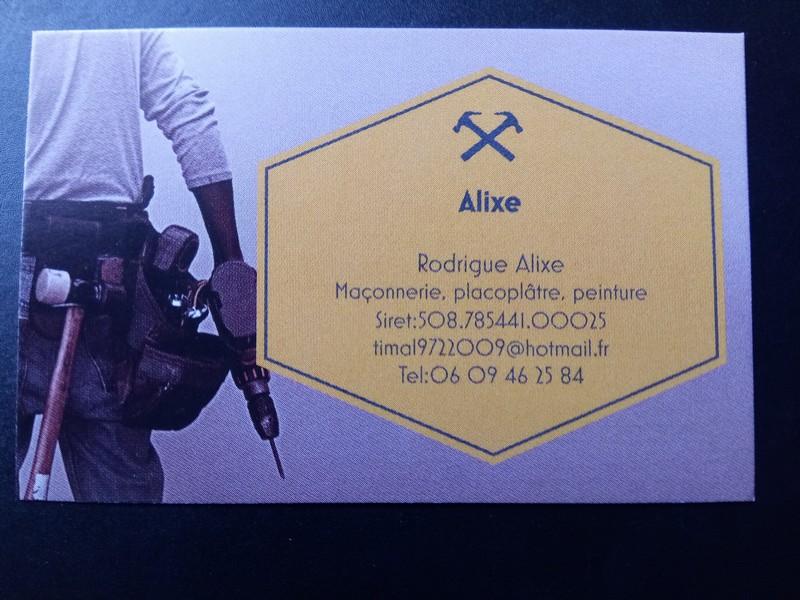 Logo de Alixe, société de travaux en Construction de maison