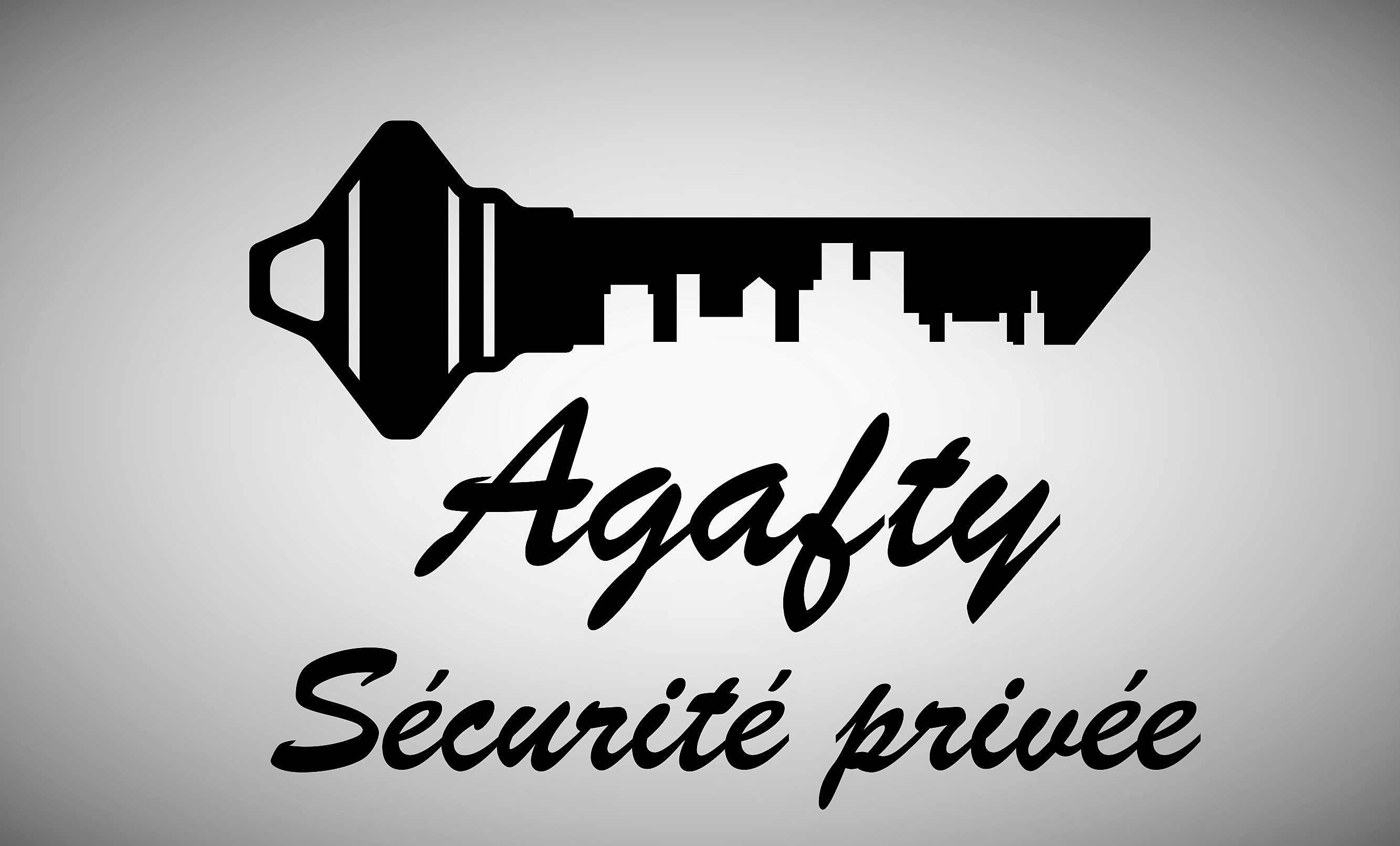 Logo de agafty securité privée, société de travaux en Gardiennage
