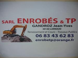 Logo de ENROBES ET TP, société de travaux en Travaux divers