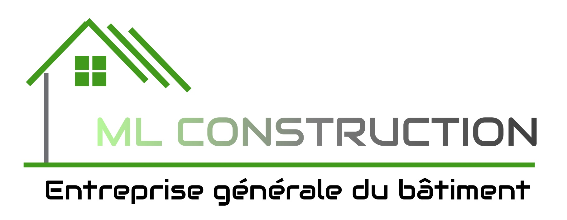 Logo de ML CONSTRUCTION, société de travaux en Construction de maison